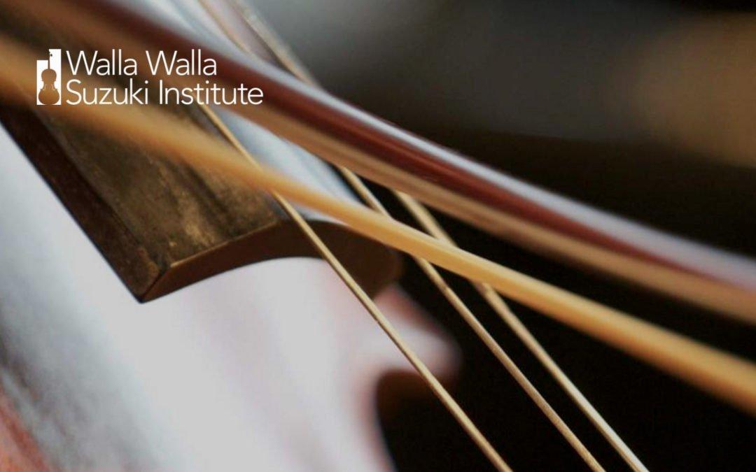 Walla Walla Suzuki Institute – July 16-21