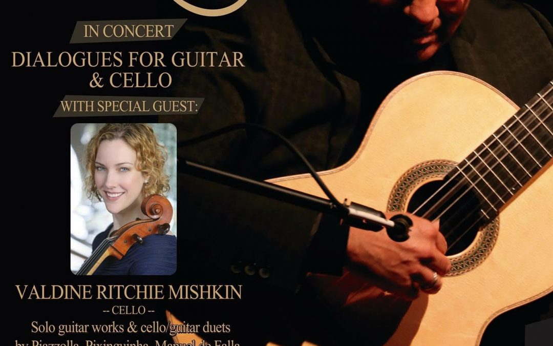 Alfred Muro – in concert Sept 29th – Dialogues for Guitar & Cello