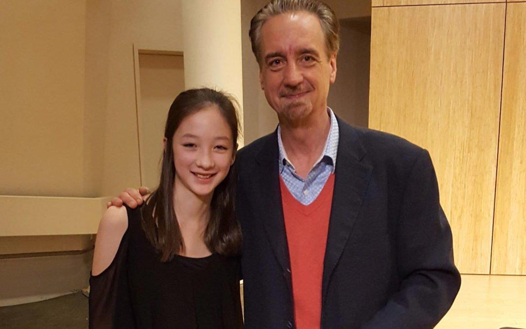 Kira with David Finckel