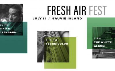Fresh Air Fest July 11, Sauvie Island – A New Music Mini-Festival